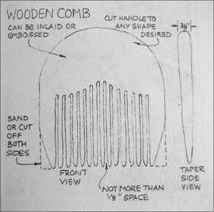 Comb Drawing